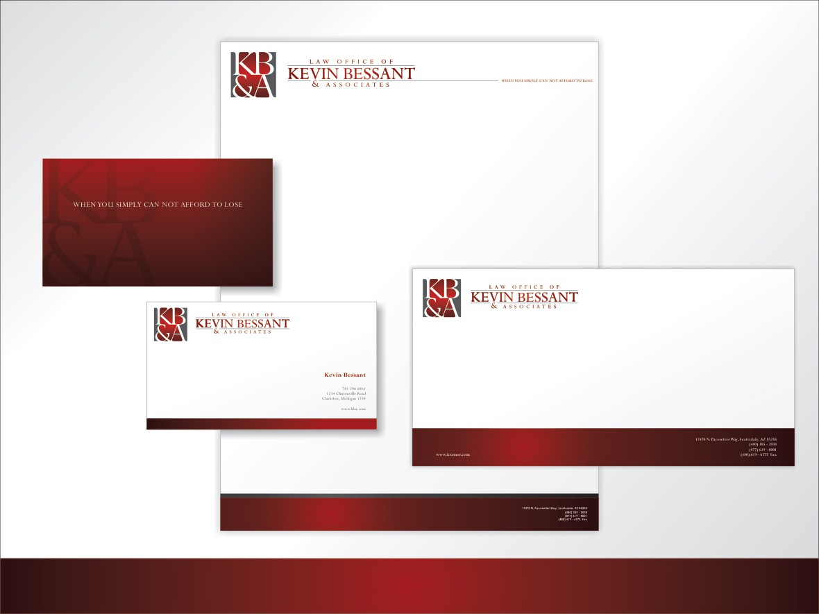 Create the next logo for Law Office of Kevin Bessant & Associates