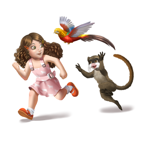 Mascots for Organic Start