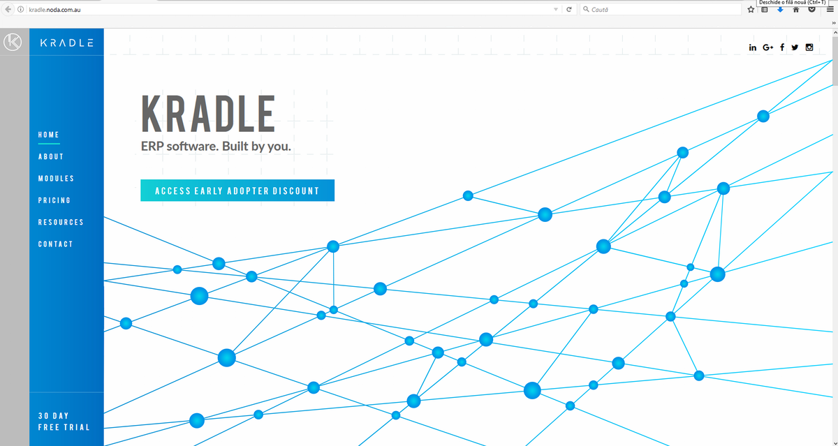 Completed Website Graphics for Kradle.com