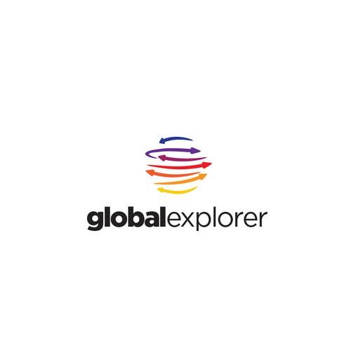 Logo Design For Global Travel Company
