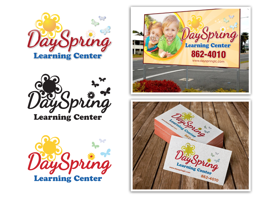 Eye catching Sign for new community church based daycare