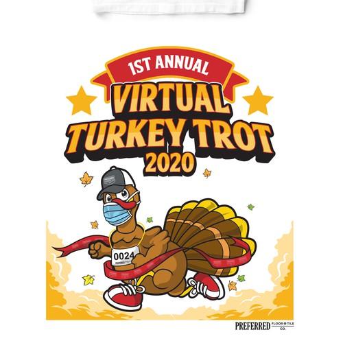 Design entry to Virtual Turkey Trot 2020