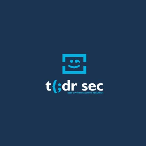 fun tech security logo concept