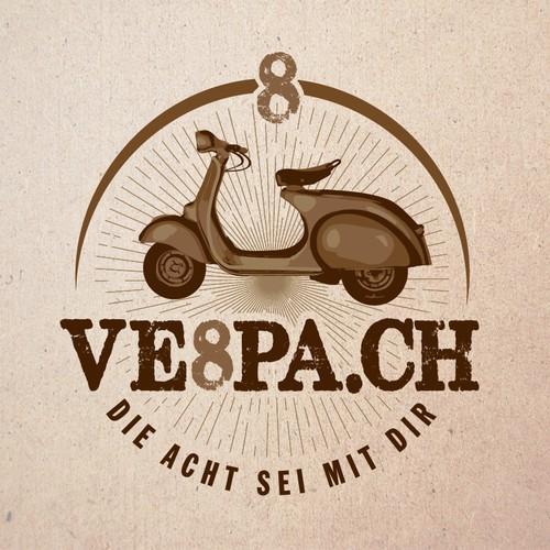 VESPA Logo design Vintage