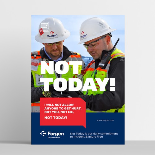 Forgen - Not Today Poster
