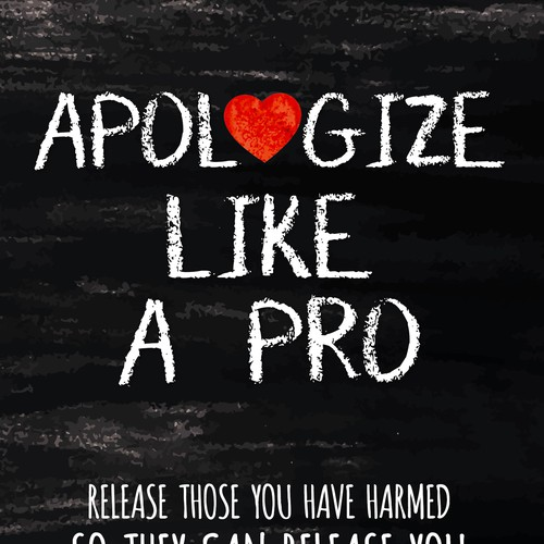 Apologize like a pro