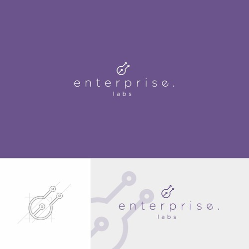 Simple logo concept for Enterprise labs