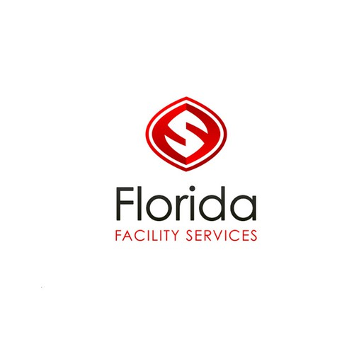 Logo for facility service company