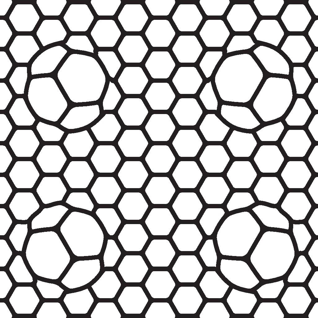 Seamless Alien-like Vector Texture