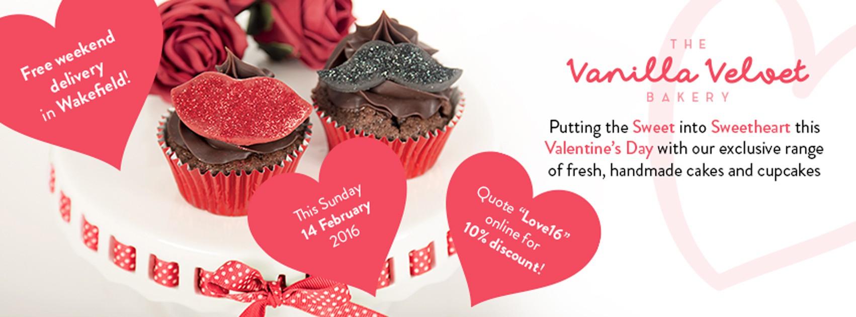 Flyer and Business Card for The Vanilla Velvet Bakery