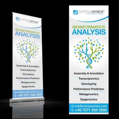 BIOINFORMATICS ANALYSIS Roll-up Stand