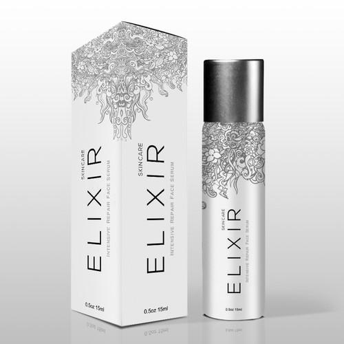 Elixir Skin Care Packaging Design