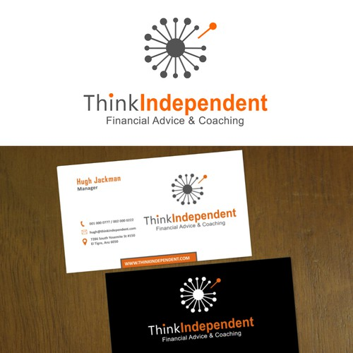 Create a logo capturing the essence of Independence