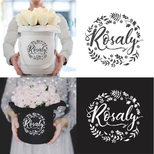 Rosaly Logo Concept