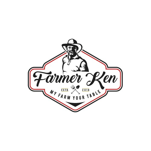 Farmer Ken needs a beautiful, brave, balanced and approachable brand identity