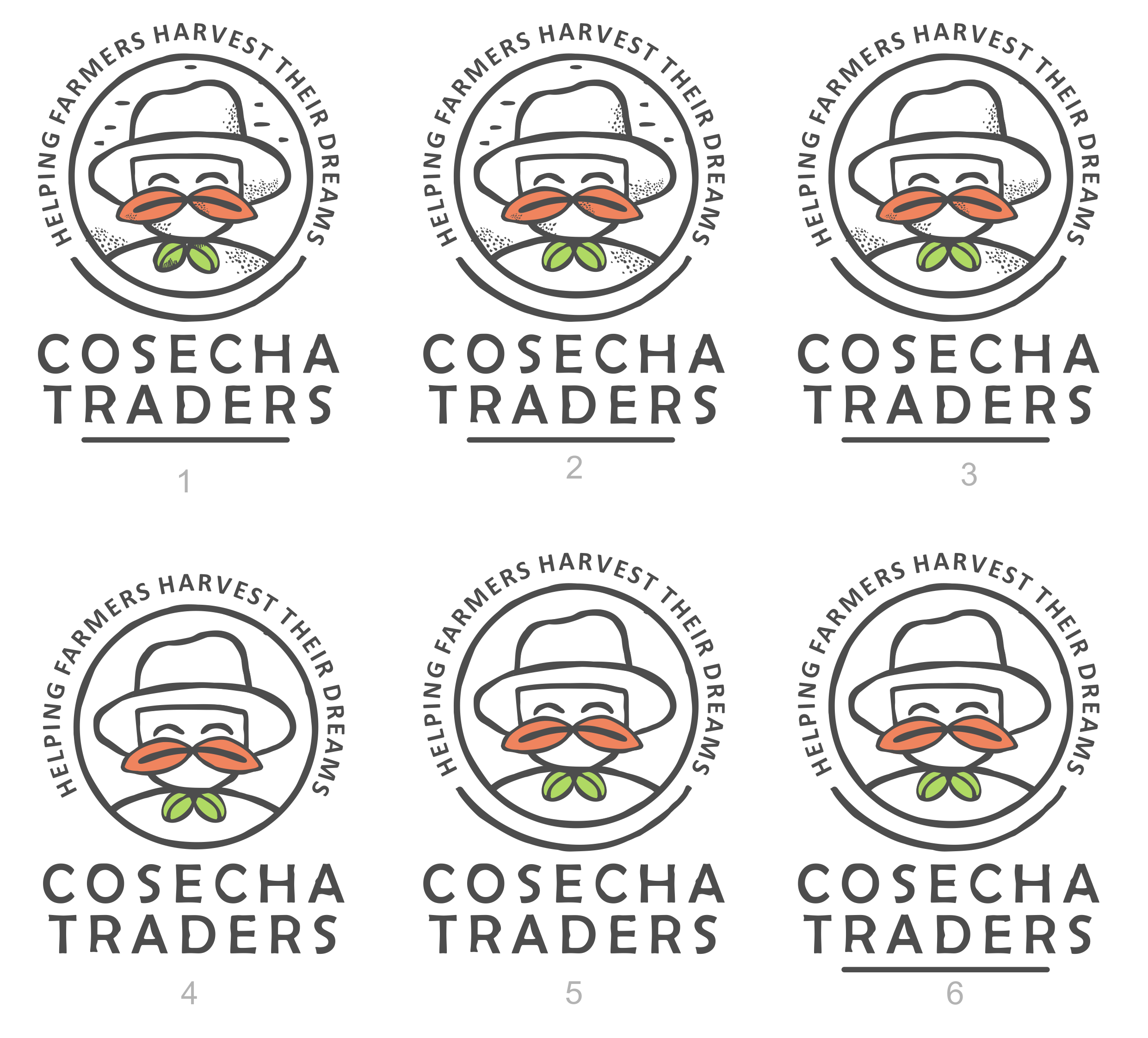Design identity for company that connects cocoa and coffee farmers in Colombia with international buyers