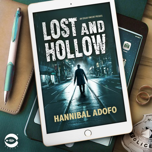 "Book cover for ""Lost and Hollow"" by Hannibal Adofo"
