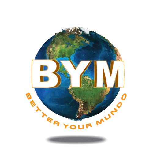 """Logo for """"BYM"""" a WORLD WIDE TV SHOW about helping people!"""