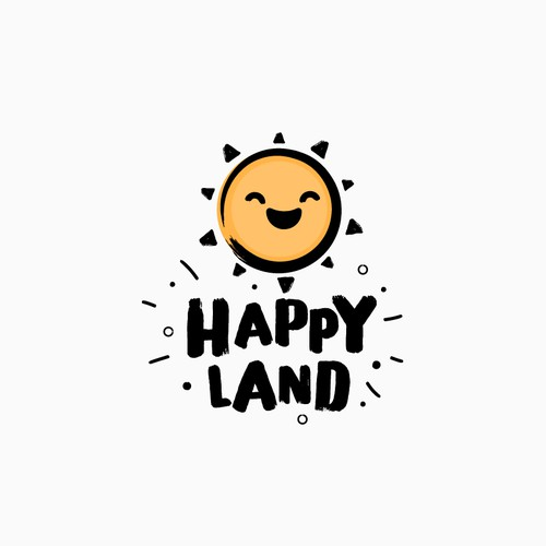 Bold Logo for Amusement Park - Happy Land