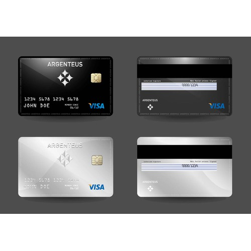 Luxury Credit Card Design