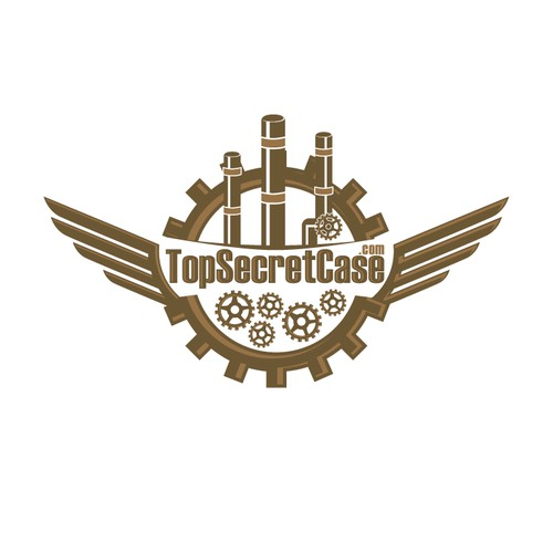 STEM PUNK logo for TopSecretCase.com