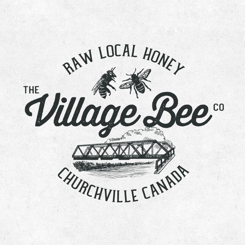 Logo for Village Bee Honey Company