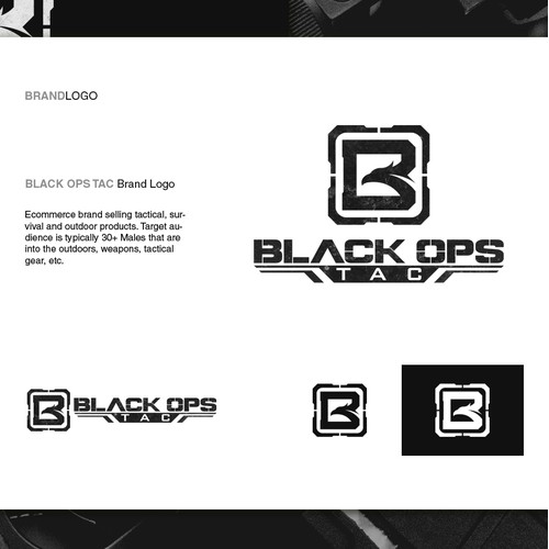Logo design for Black Ops Tac