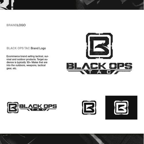 Logo design for Black Ops Tac
