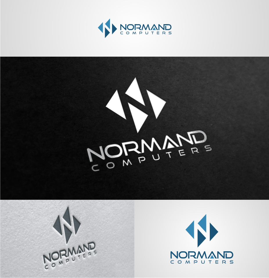 Logo & Identity for new upstart Normand Computers