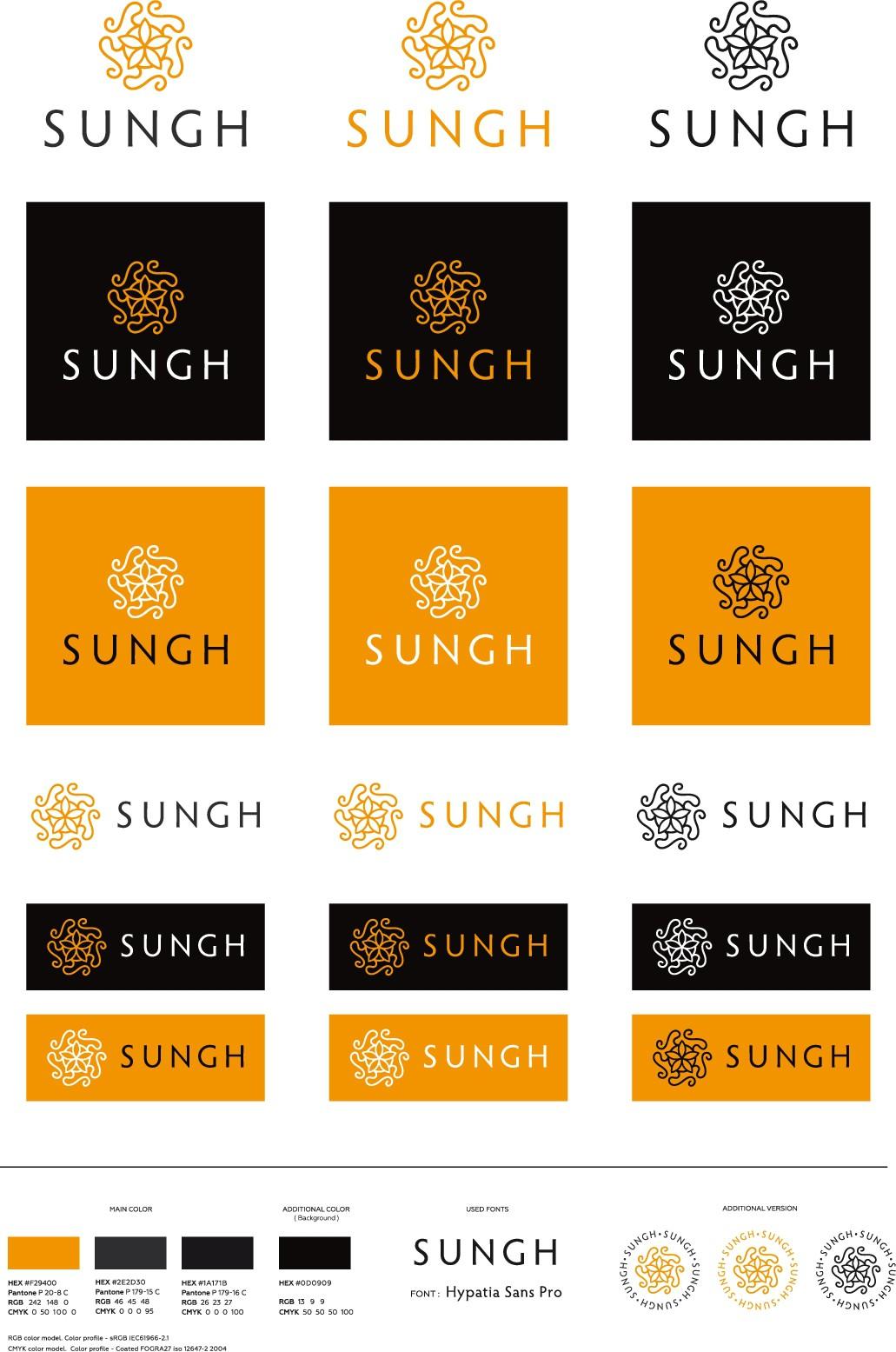 Design a community inclusive logo for Sungh, a new Marketplace.