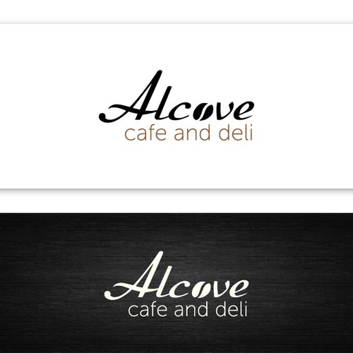 Help Alcove Cafe and Deli with a new logo