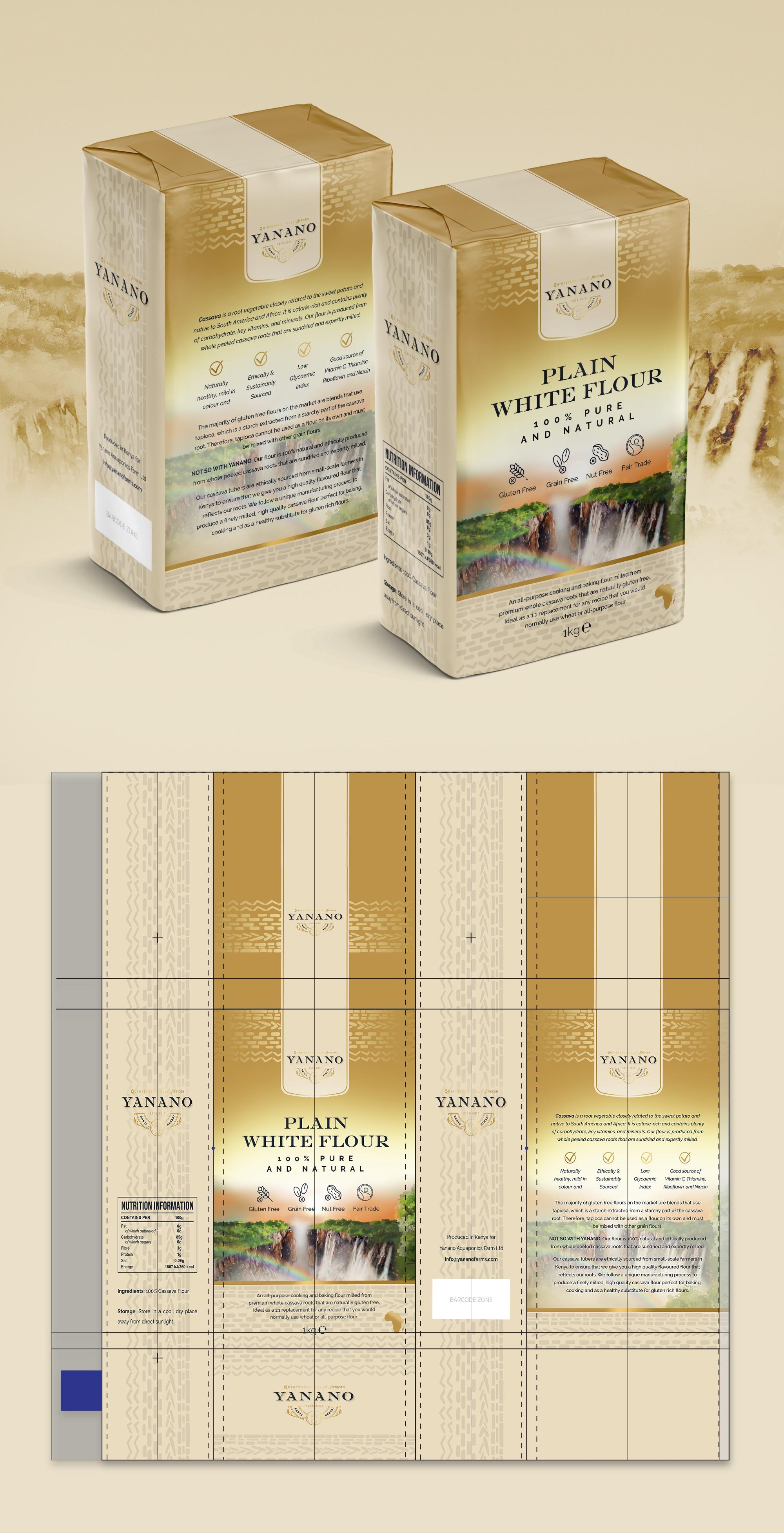 range of organic products