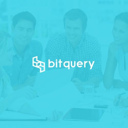 creative logo for Bitquery