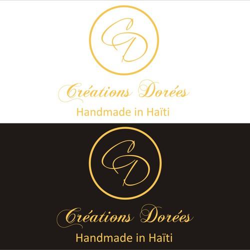 elegant stylish logo concept for a jewelry company