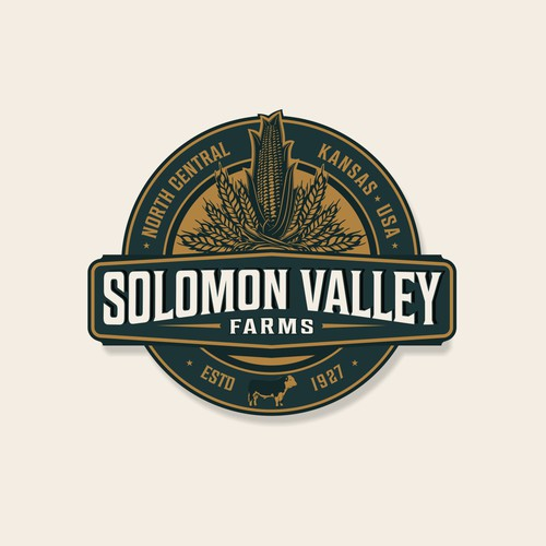 Solomon Valley Farms logo