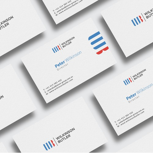 Business Card for Wilkinson Butler.