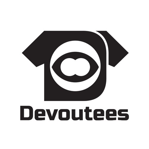 Devoutees Augmented Reality T-Shirt Logo Concept