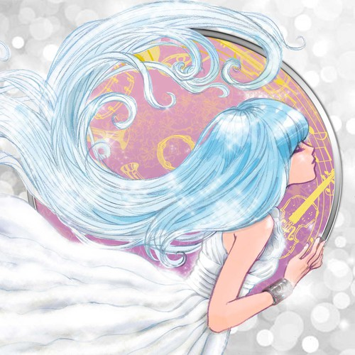 Illustration for a musical cd cover