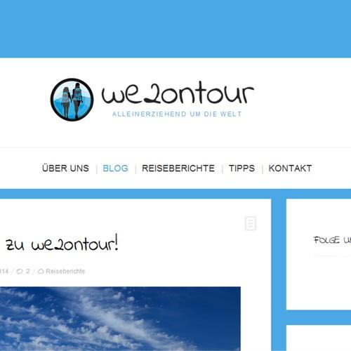 Logo für Reiseblog