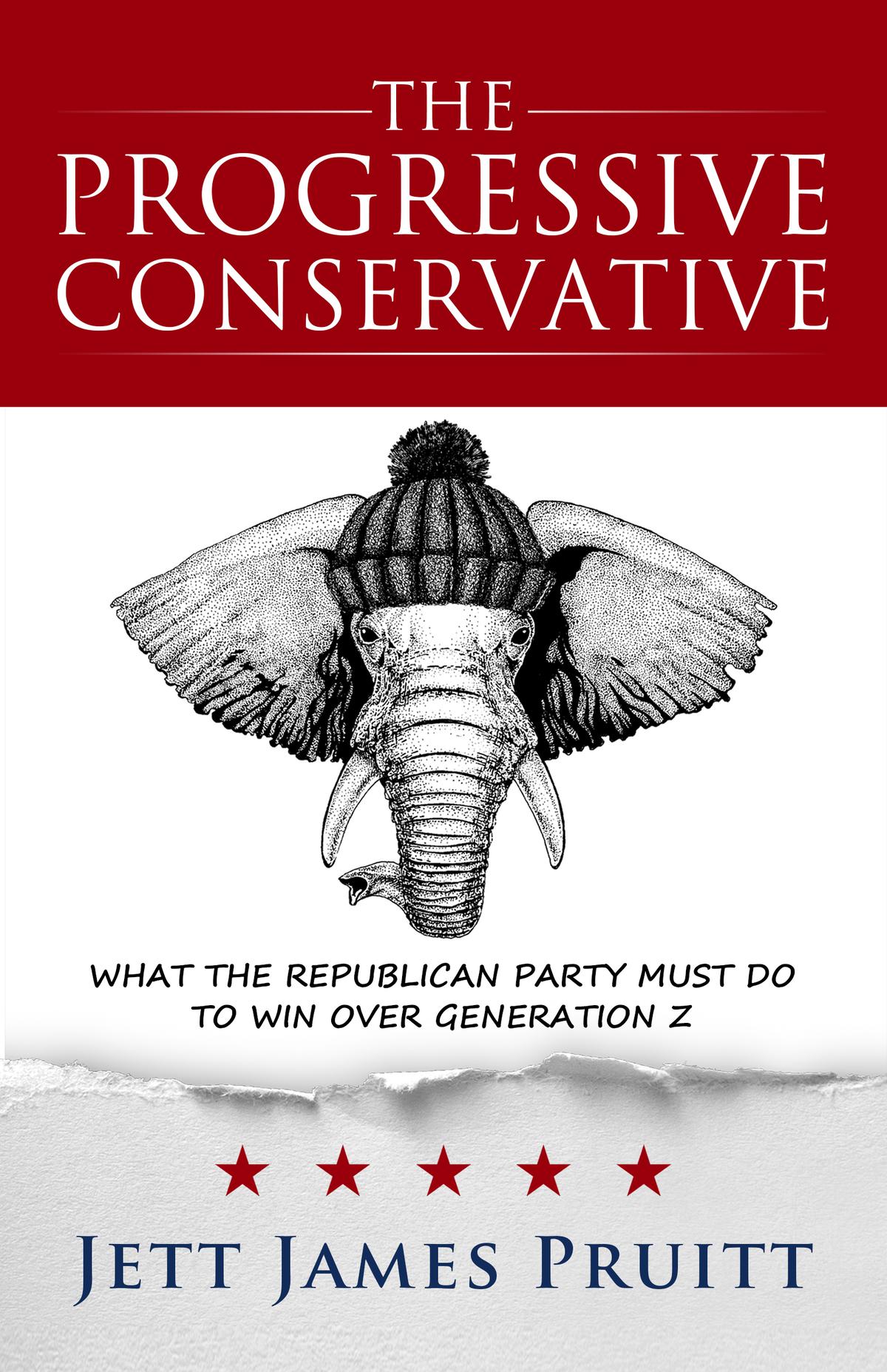 Political Book Cover for Progressive Conservative
