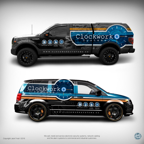 Create a cool wrap design for the best looking fleet on the road