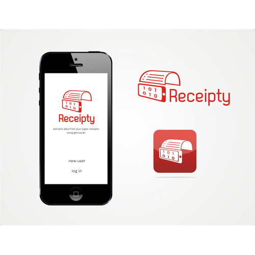Logo creation for the most simple and stylish receipt management app EVER!