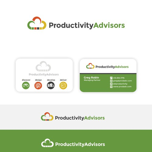 Logo and card refresh for cloud consulting company