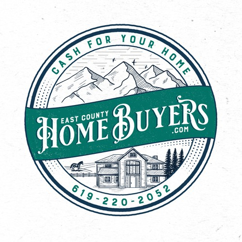 Logo design for real estate investor