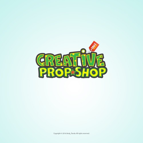 Creative Prop Shop - Logo for a new e-commerce online store