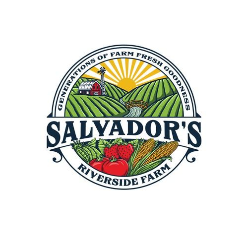 Illustration Logo For Family farm
