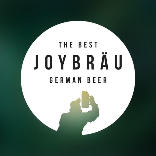 Joy Brau German Beer Logo