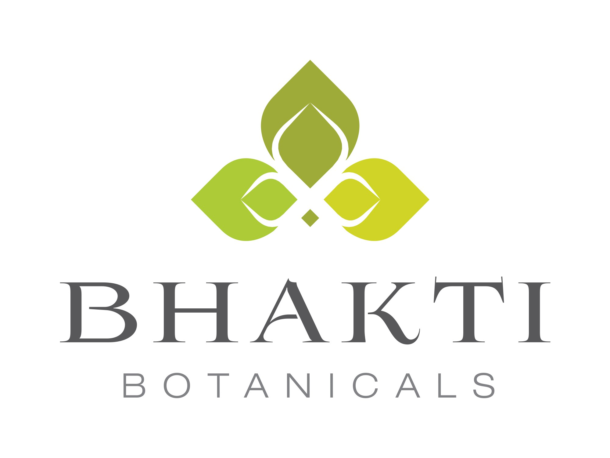 Create an elegant yet powerful logo for Bhakti Botanicals