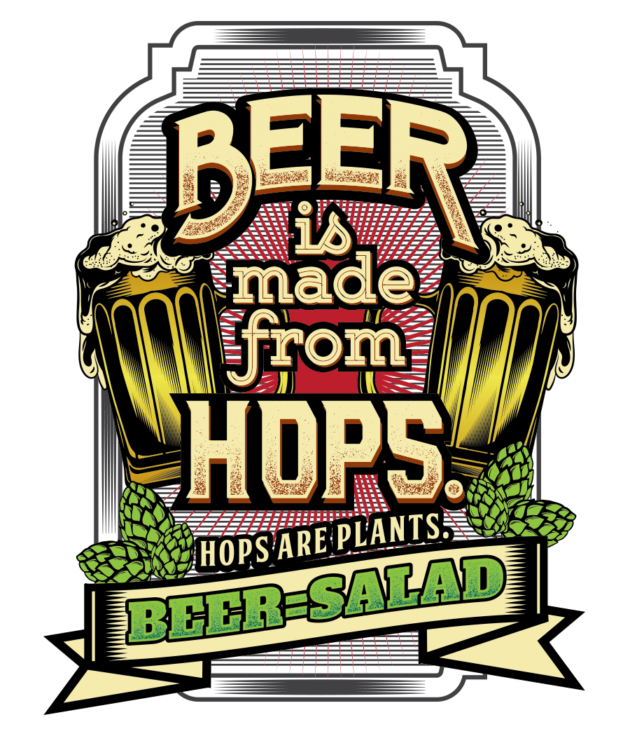 Design A Funny T-Shirt For The Beer Niche - GUARANTEED PRIZE
