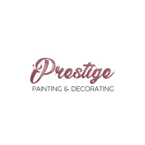 Prestige (painting and decorating company) Logo Design